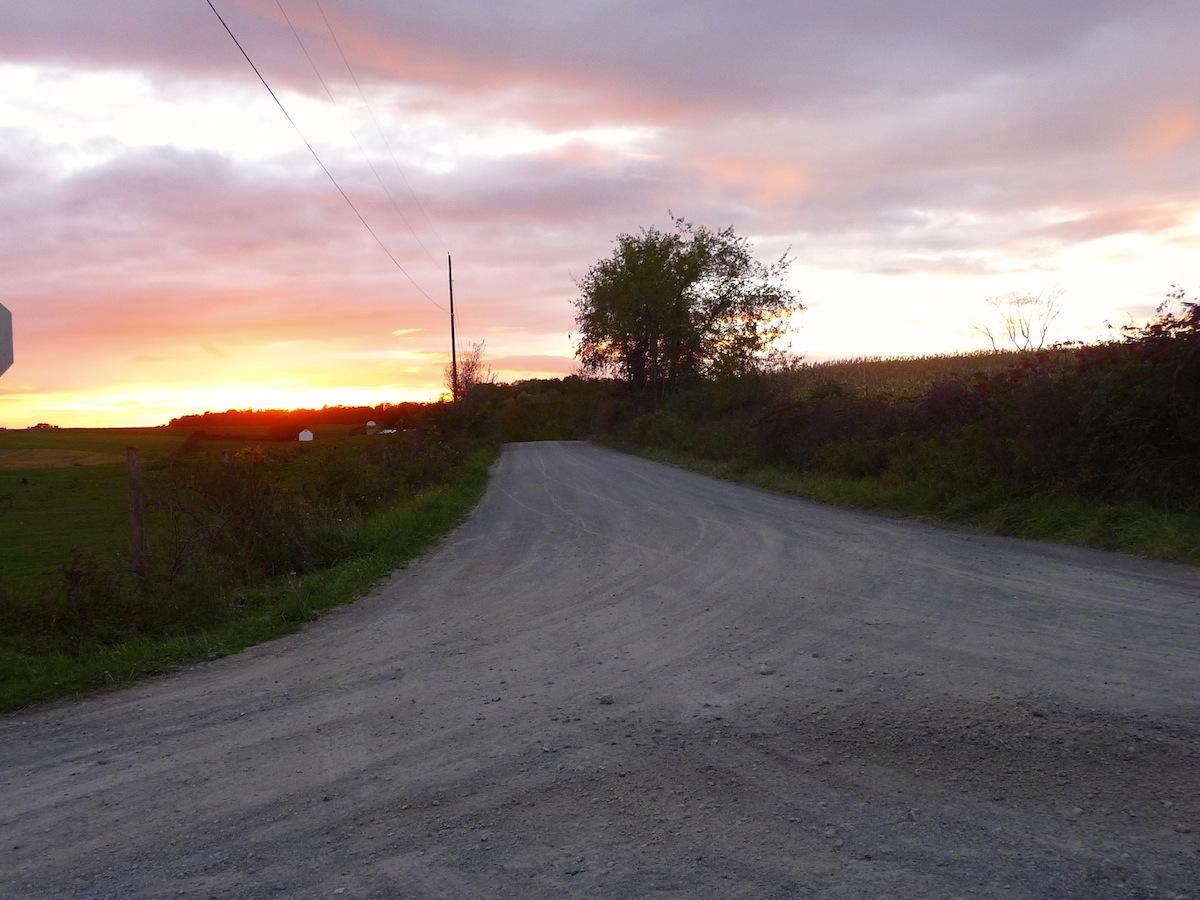 Amish Country Lane