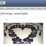 Amish Quilts Blog Signpost Article