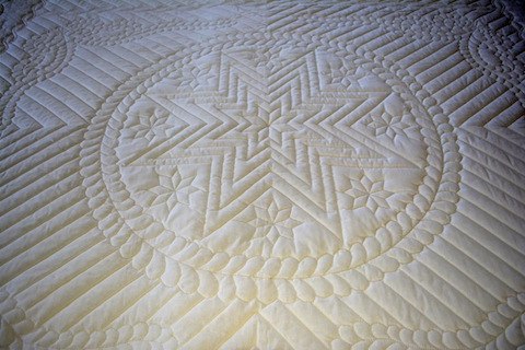 Amish Handmade Quilt Amish Star Pattern