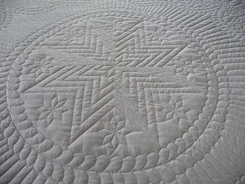 Amish Star Quilt Center Detail