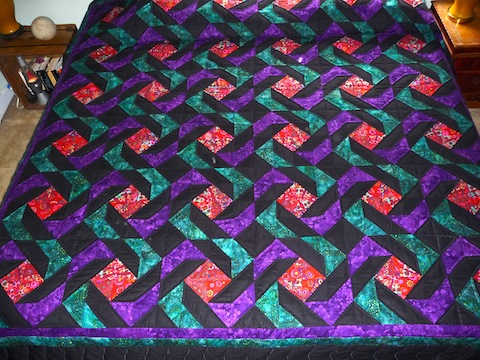 Amish Quilt Arachnes Quilt Full View 2