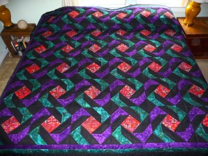Amish Quilt Arachnes Quilt Full View