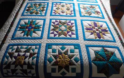 Handmade Amish Quilt Sampler Pattern