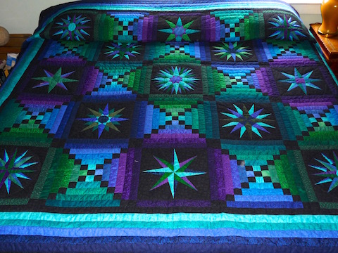 Amish Quilt Moonglow Pattern