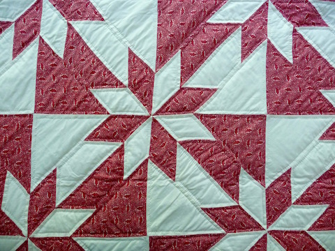 Hunters Star Amish Quilt Photo