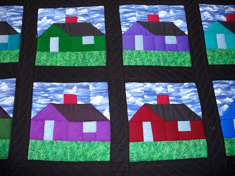 Amish Schoolhouse Quilt Pattern