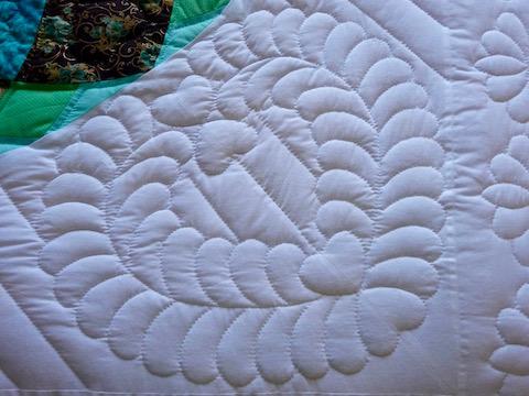 Giant Dahlia Quilt Pattern
