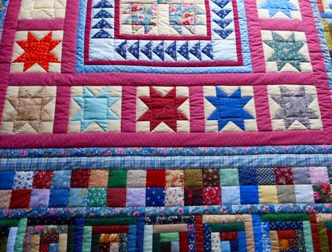 Amish Sampler Quilt Pattern