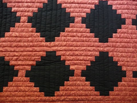 Courthouse Steps Amish Quilt For Sale