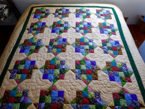 Amish Patchwork Quilt For sale