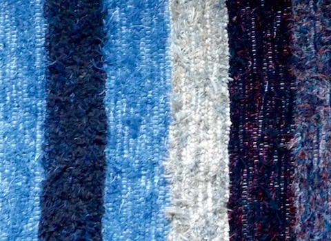 Hand Loomed Amish Rug For sale