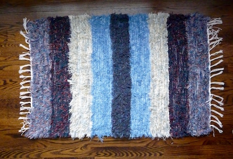 Handmade Amish Rug For Sale