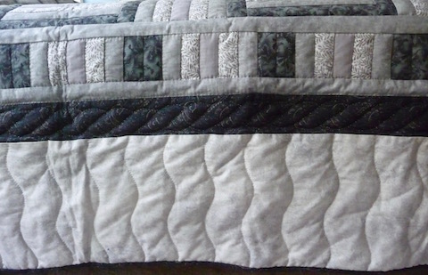 Amish Quilt for Sale Fence Post Roman Bars Pattern