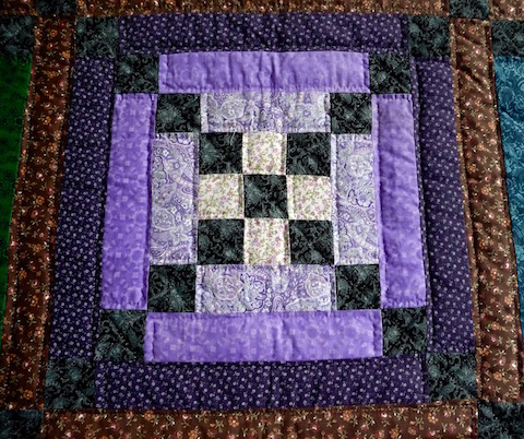 Amish Quilts for Sale Log Cabin Amish Quilt