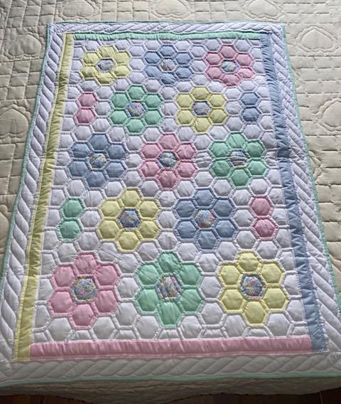 Amish Flower Garden Baby Quilt Pattern