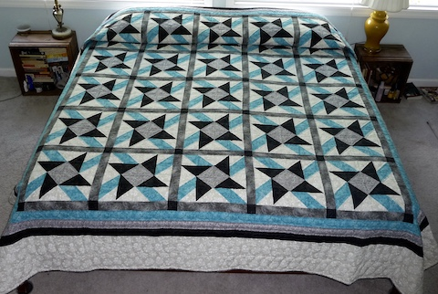 new amish queen quilt Jack in the Box