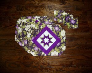 Folded Star Amish Placemats
