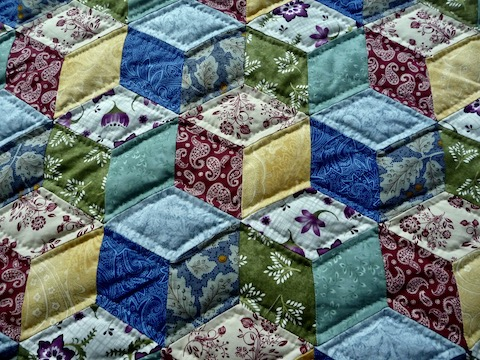 amish quilts for sale Tumbling Blocks