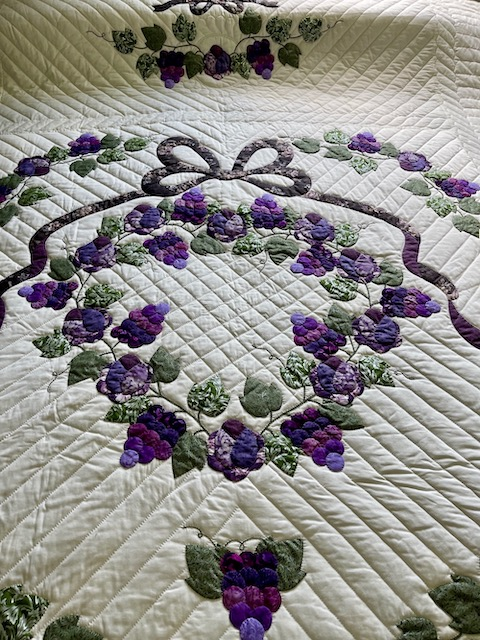 amish quilt for sale Country Grapes