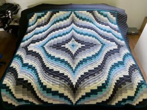 new amish king quilt Bargello pattern