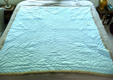 Vintage Amish quilt for Sale Lone Star Pattern